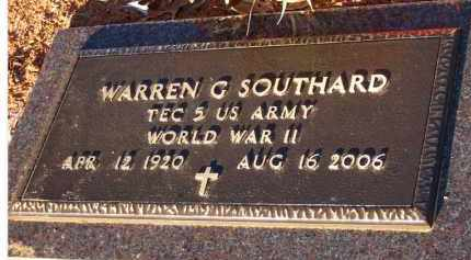 "SOUTHARD  (VETERAN WWII), WARREN G  ""DICK"" - Scott County, Arkansas   WARREN G  ""DICK"" SOUTHARD  (VETERAN WWII) - Arkansas Gravestone Photos"