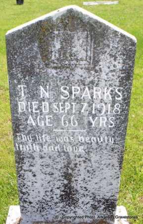 SPARKS, T N - Scott County, Arkansas | T N SPARKS - Arkansas Gravestone Photos