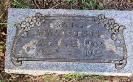 SPINKS, ETHEL - Scott County, Arkansas | ETHEL SPINKS - Arkansas Gravestone Photos