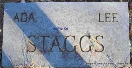 STAGGS, ADA - Scott County, Arkansas | ADA STAGGS - Arkansas Gravestone Photos