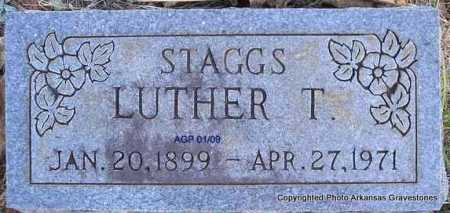 STAGGS, LUTHER T - Scott County, Arkansas | LUTHER T STAGGS - Arkansas Gravestone Photos