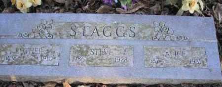 STAGGS, ALICE - Scott County, Arkansas | ALICE STAGGS - Arkansas Gravestone Photos
