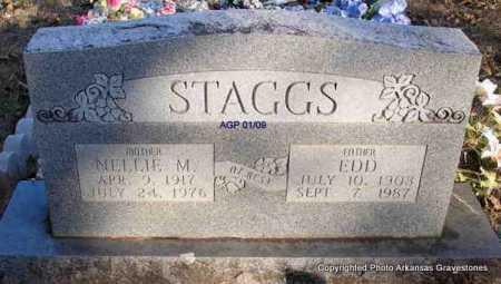 STAGGS, NELLIE MARGARET - Scott County, Arkansas | NELLIE MARGARET STAGGS - Arkansas Gravestone Photos
