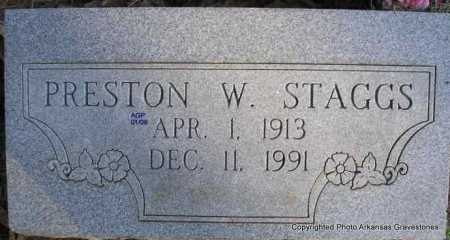 STAGGS, PRESTON W - Scott County, Arkansas | PRESTON W STAGGS - Arkansas Gravestone Photos