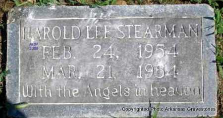 STEARMAN, HAROLD LEE - Scott County, Arkansas | HAROLD LEE STEARMAN - Arkansas Gravestone Photos