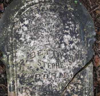 STEPHENSON, P  BETTY - Scott County, Arkansas | P  BETTY STEPHENSON - Arkansas Gravestone Photos