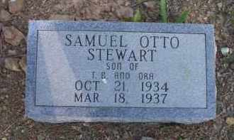 STEWART, SAMUEL OTTO - Scott County, Arkansas | SAMUEL OTTO STEWART - Arkansas Gravestone Photos