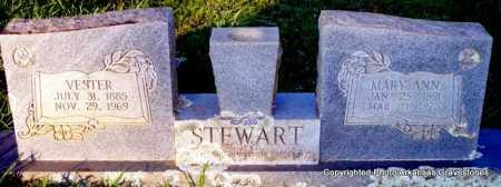 STEWART, MARY ANN - Scott County, Arkansas | MARY ANN STEWART - Arkansas Gravestone Photos