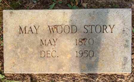 WOOD STORY, MAY - Scott County, Arkansas | MAY WOOD STORY - Arkansas Gravestone Photos