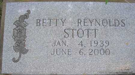STOTT, BETTY - Scott County, Arkansas | BETTY STOTT - Arkansas Gravestone Photos
