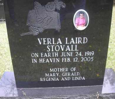 STOVALL, VERLA - Scott County, Arkansas   VERLA STOVALL - Arkansas Gravestone Photos