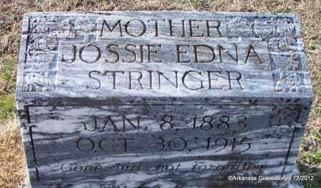 STRINGER, JOSSIE EDNA - Scott County, Arkansas | JOSSIE EDNA STRINGER - Arkansas Gravestone Photos