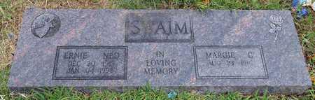 SWAIM, MARGIE CATHERINE - Scott County, Arkansas | MARGIE CATHERINE SWAIM - Arkansas Gravestone Photos