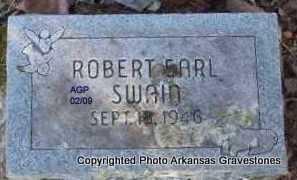 SWAIN, ROBERT EARL - Scott County, Arkansas   ROBERT EARL SWAIN - Arkansas Gravestone Photos