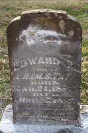 TAFF, EDWARD B - Scott County, Arkansas   EDWARD B TAFF - Arkansas Gravestone Photos