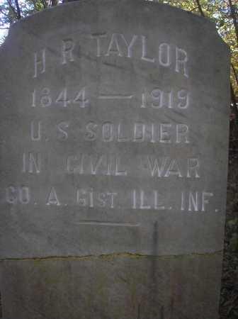 TAYLOR (VETERAN UNION), H  R - Scott County, Arkansas | H  R TAYLOR (VETERAN UNION) - Arkansas Gravestone Photos