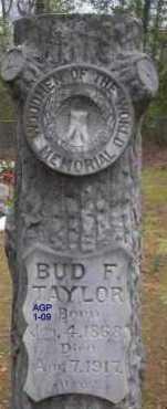 TAYLOR, BUD F - Scott County, Arkansas   BUD F TAYLOR - Arkansas Gravestone Photos