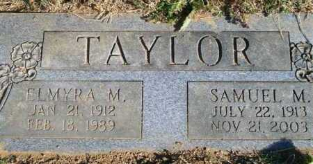 TAYLOR, SAMUEL M - Scott County, Arkansas | SAMUEL M TAYLOR - Arkansas Gravestone Photos