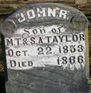 TAYLOR, JOHN R - Scott County, Arkansas   JOHN R TAYLOR - Arkansas Gravestone Photos