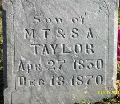TAYLOR, NEEDHAM - Scott County, Arkansas | NEEDHAM TAYLOR - Arkansas Gravestone Photos