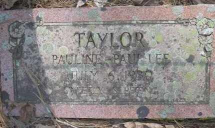 TAYLOR, PAULINE - Scott County, Arkansas | PAULINE TAYLOR - Arkansas Gravestone Photos
