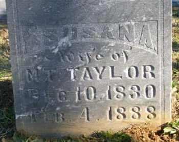 TAYLOR, SUSAN A - Scott County, Arkansas   SUSAN A TAYLOR - Arkansas Gravestone Photos