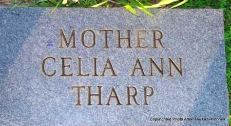 THARP, CELIA ANN - Scott County, Arkansas | CELIA ANN THARP - Arkansas Gravestone Photos