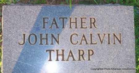 THARP, JOHN CALVIN - Scott County, Arkansas   JOHN CALVIN THARP - Arkansas Gravestone Photos