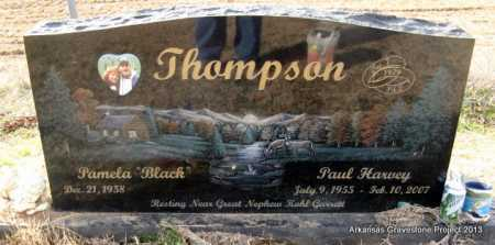 THOMPSON, PAUL HARVEY - Scott County, Arkansas | PAUL HARVEY THOMPSON - Arkansas Gravestone Photos