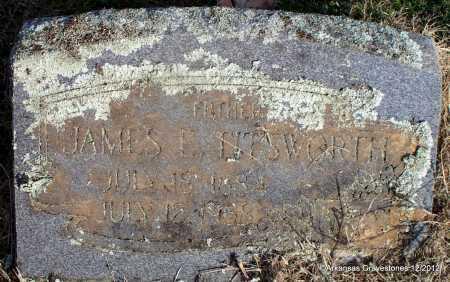 TITSWORTH, JAMES E - Scott County, Arkansas   JAMES E TITSWORTH - Arkansas Gravestone Photos