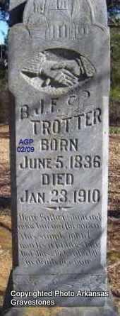 TROTTER, B  J  F - Scott County, Arkansas | B  J  F TROTTER - Arkansas Gravestone Photos