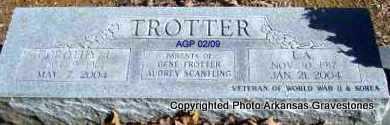 TROTTER, L A - Scott County, Arkansas | L A TROTTER - Arkansas Gravestone Photos
