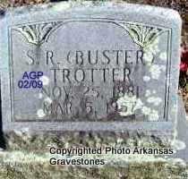 TROTTER, S R  (BUSTER) - Scott County, Arkansas   S R  (BUSTER) TROTTER - Arkansas Gravestone Photos