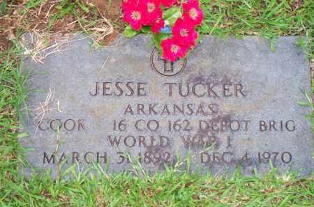 TUCKER  (VETERAN WWI), JESSE - Scott County, Arkansas | JESSE TUCKER  (VETERAN WWI) - Arkansas Gravestone Photos