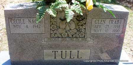 "TULL, GLEN ""RAB"" - Scott County, Arkansas | GLEN ""RAB"" TULL - Arkansas Gravestone Photos"