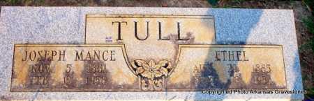 TULL, ETHEL - Scott County, Arkansas | ETHEL TULL - Arkansas Gravestone Photos