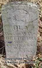 TULL, OLA - Scott County, Arkansas   OLA TULL - Arkansas Gravestone Photos