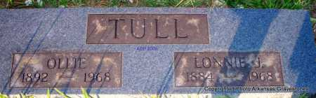 TULL, LONNIE J - Scott County, Arkansas | LONNIE J TULL - Arkansas Gravestone Photos