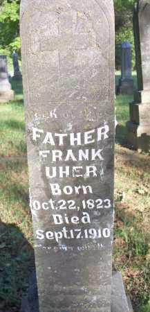 UHER, FRANK - Scott County, Arkansas   FRANK UHER - Arkansas Gravestone Photos