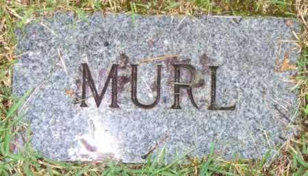 UNKNOWN, MURL - Scott County, Arkansas | MURL UNKNOWN - Arkansas Gravestone Photos