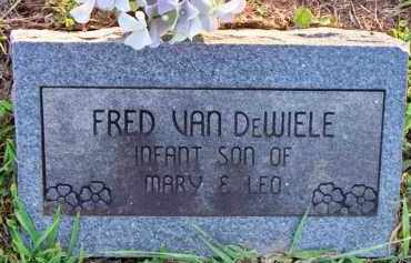 VAN DEWIELE, FRED - Scott County, Arkansas | FRED VAN DEWIELE - Arkansas Gravestone Photos