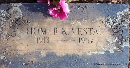 VESTAL, HOMER K - Scott County, Arkansas | HOMER K VESTAL - Arkansas Gravestone Photos