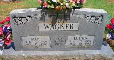 THOMPSON WAGNER, ALLIE - Scott County, Arkansas | ALLIE THOMPSON WAGNER - Arkansas Gravestone Photos