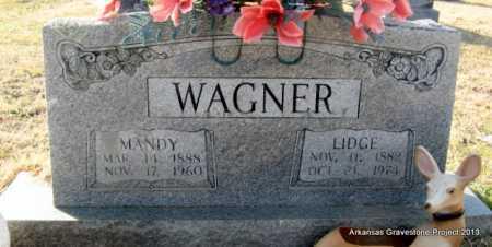 "WAGNER, ELIJAH R R ""LIDGE"" - Scott County, Arkansas   ELIJAH R R ""LIDGE"" WAGNER - Arkansas Gravestone Photos"