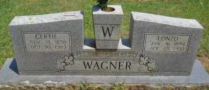 WAGNER, GERTIE - Scott County, Arkansas   GERTIE WAGNER - Arkansas Gravestone Photos