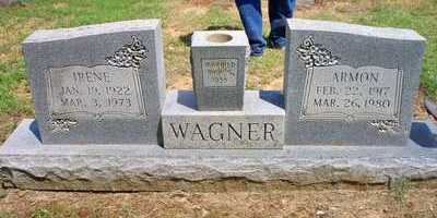WAGNER, ARMON - Scott County, Arkansas | ARMON WAGNER - Arkansas Gravestone Photos