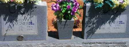 WAGNER, MILDRED - Scott County, Arkansas | MILDRED WAGNER - Arkansas Gravestone Photos