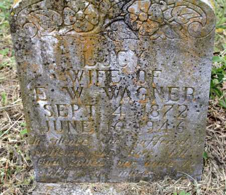 WAGNER, LUCY - Scott County, Arkansas | LUCY WAGNER - Arkansas Gravestone Photos