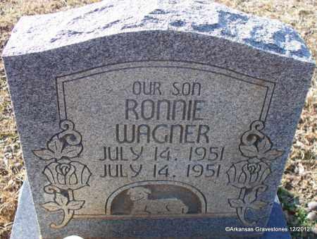WAGNER, RONNIE - Scott County, Arkansas | RONNIE WAGNER - Arkansas Gravestone Photos