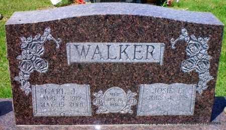 WALKER, CARL J - Scott County, Arkansas | CARL J WALKER - Arkansas Gravestone Photos